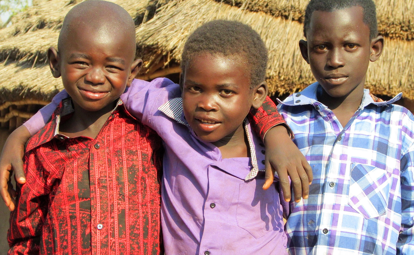Young Moru boys after Christmas celebration at church. | Photo by Will and Theresa Reed