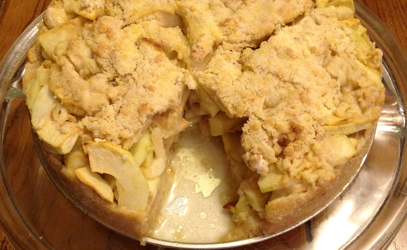"Ruthie Cohen's ""coveted and labor-intensive"" Drora Apple Pie Cake. 