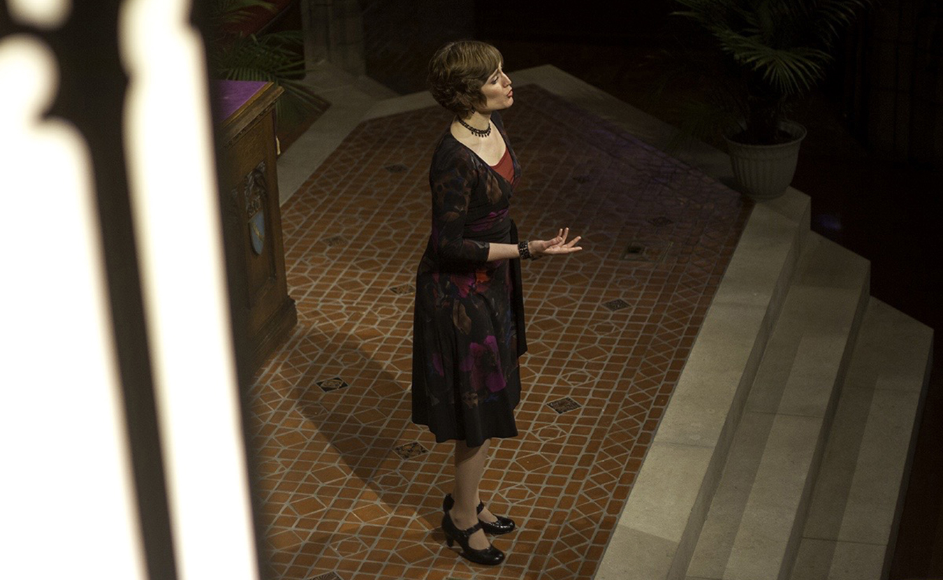 Megan Roth performs art song in a concert during Calliope's Call's last season. | Courtesy photo