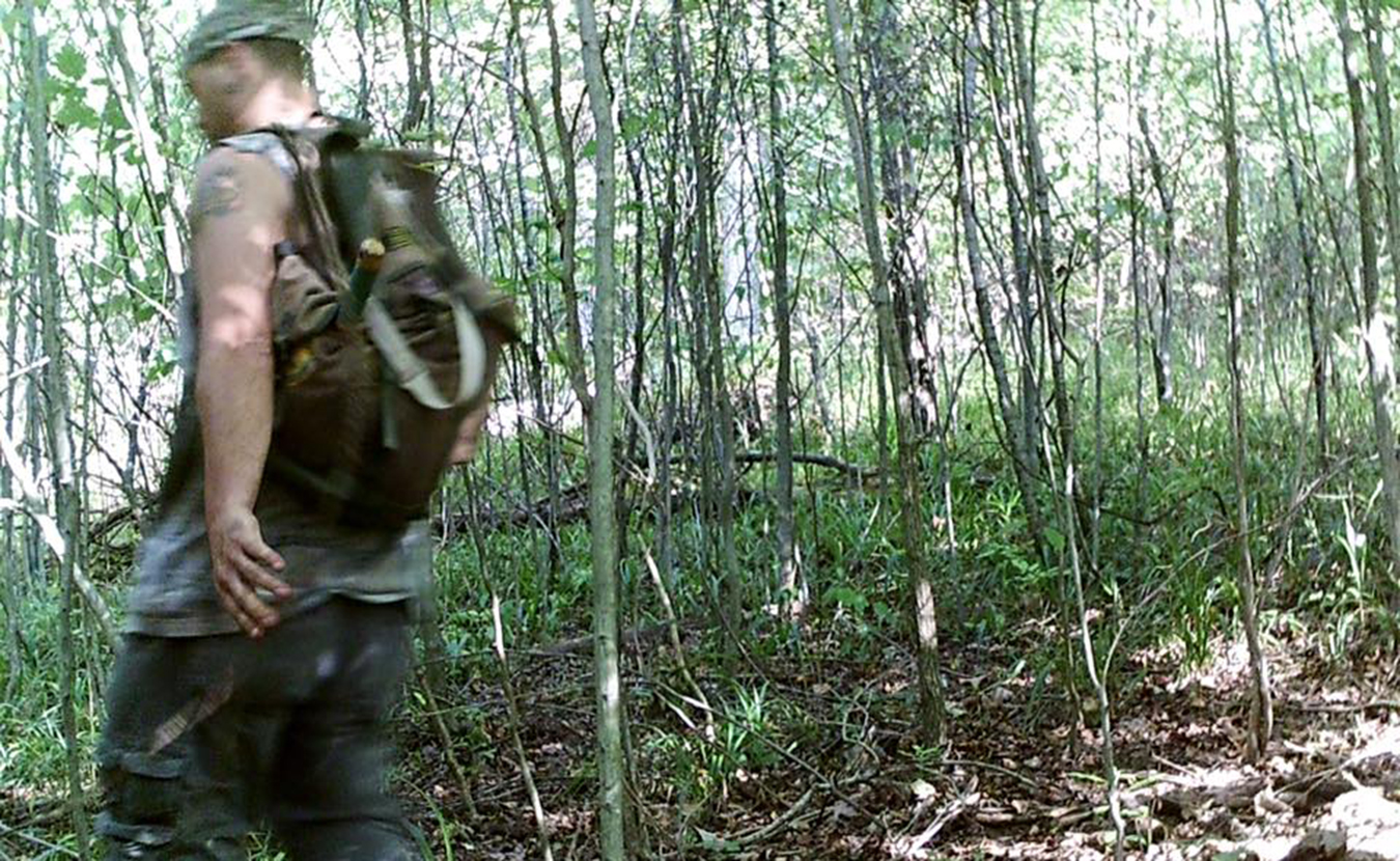In 2014, there were 49 enforcement actions for hunting ginseng without landowner consent. The Indiana DNR Law District 8 posted this photo on their Facebook page back in October in an attempt to identify this person, who is suspected of a trail camera theft, trespass, and possible ginseng theft near Milltown. | Indiana DNR Law District 8