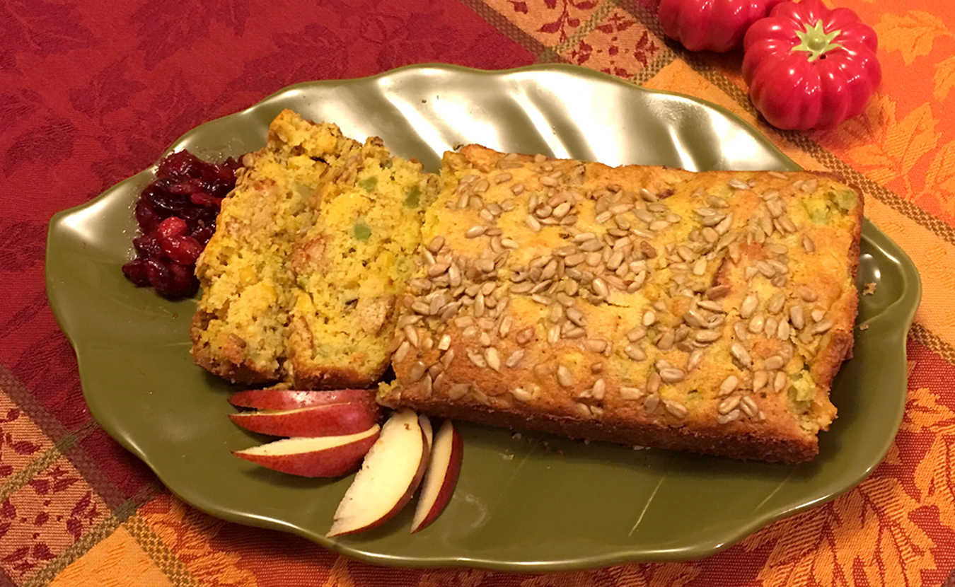 Ruthie Cohen's Stuffing Loaf, an alternative to stuffing made from the bird's cavity. | Photo by Ruthie Cohen