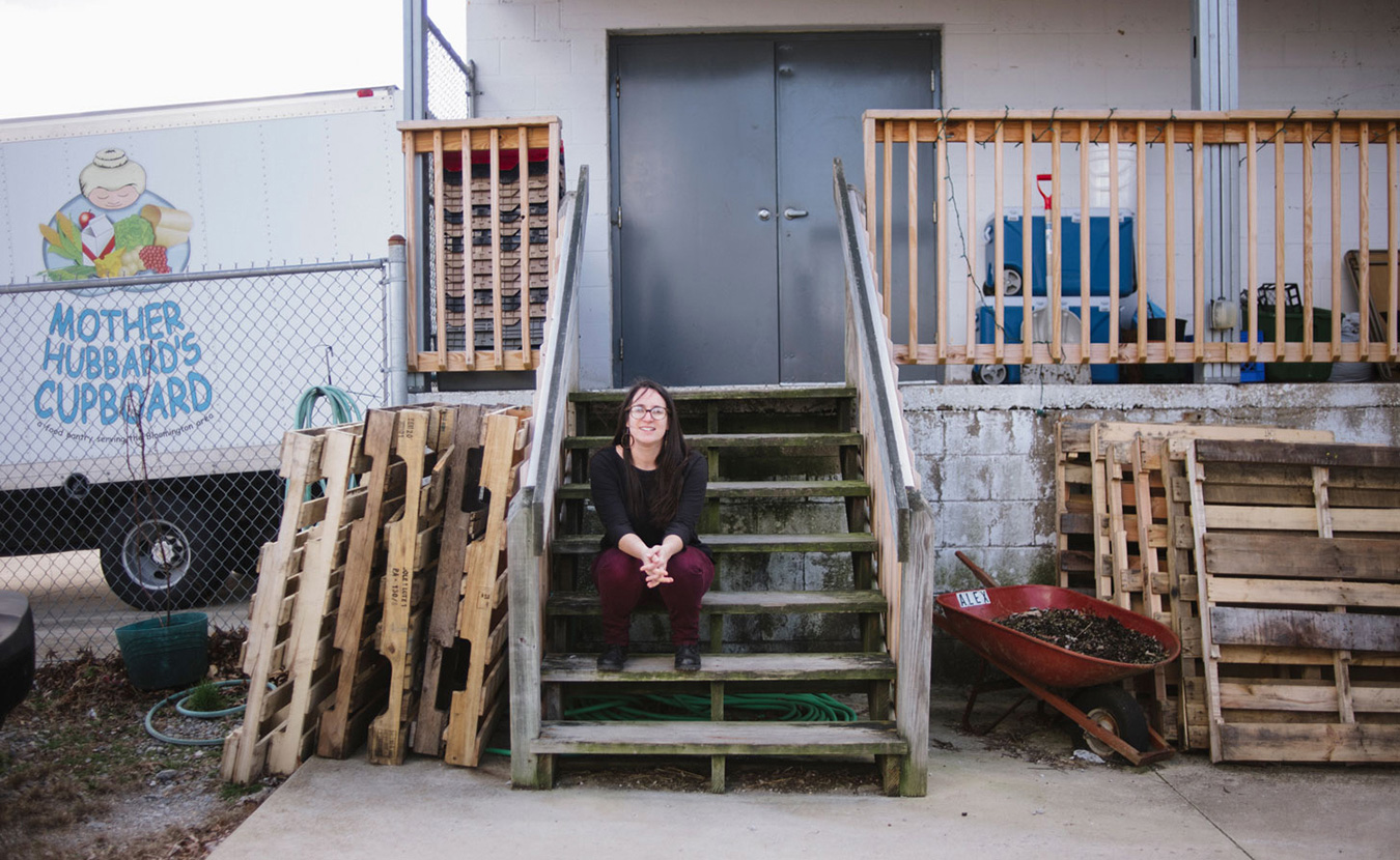 Stephanie Solomon, the director of education and outreach at Mother Hubbard's Cupboard, says the problem of food insecurity is broader and more systemic than many people realize. Monroe County is tied for the fourth-highest hunger rate in the state. | Photo by Natasha Komoda