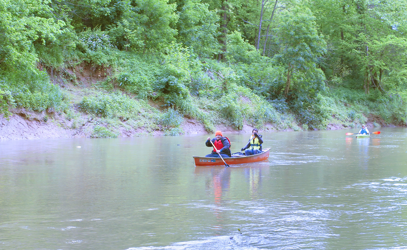 Michael Waterford says some of the best outdoor excursions can be had in southern Indiana. In this introduction to paddling, he offers suggestions on how to get on local lakes and rivers. It's the first step, he says, to saving them. | Photo by Limestone Post