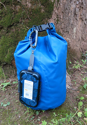 Dry bags help keep important things, such as your phone or a change of clothes, dry. | Photo by Limestone Post