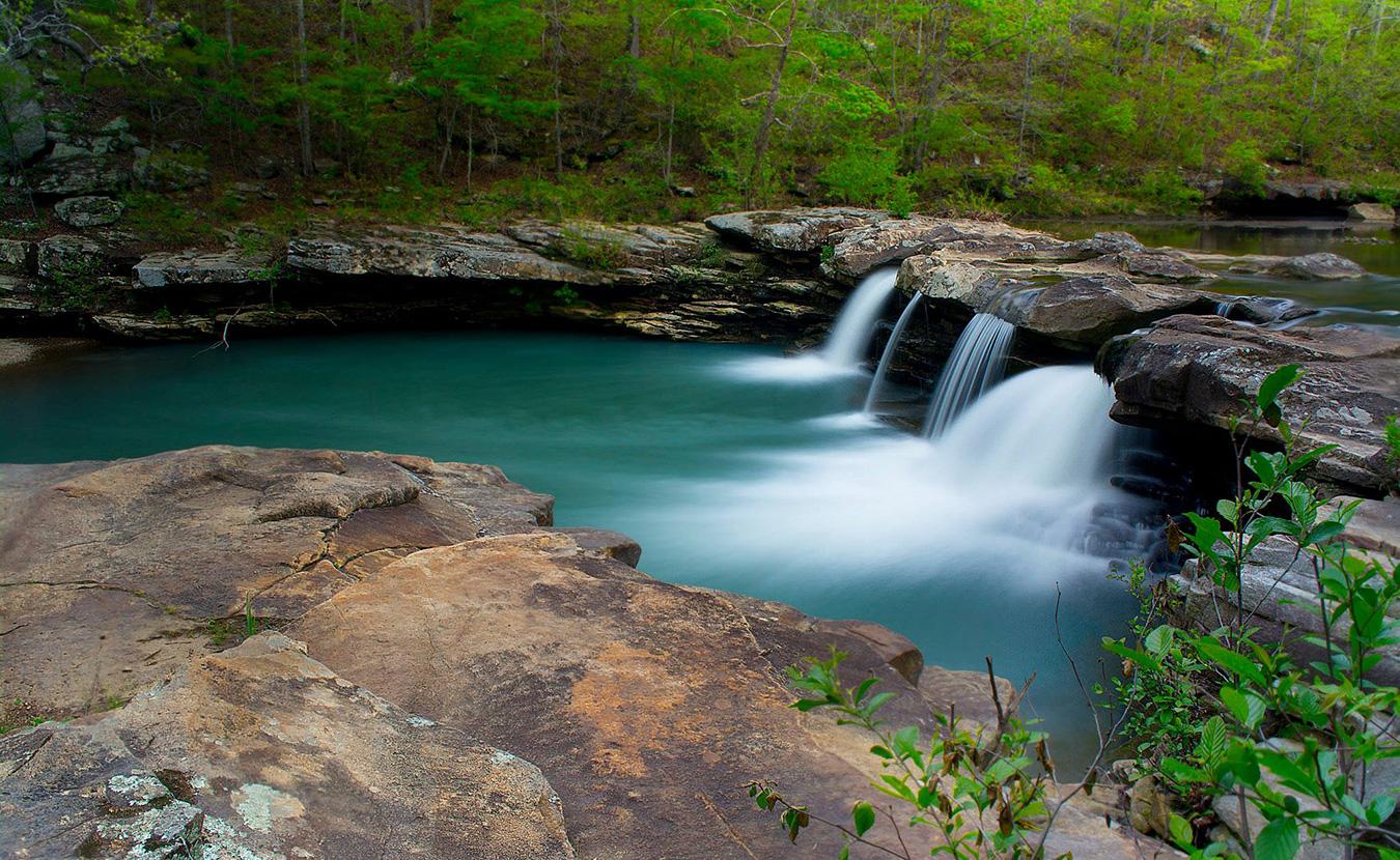 Kings River Falls nearWitter, Arkansas.| Photo by Nathan Clark