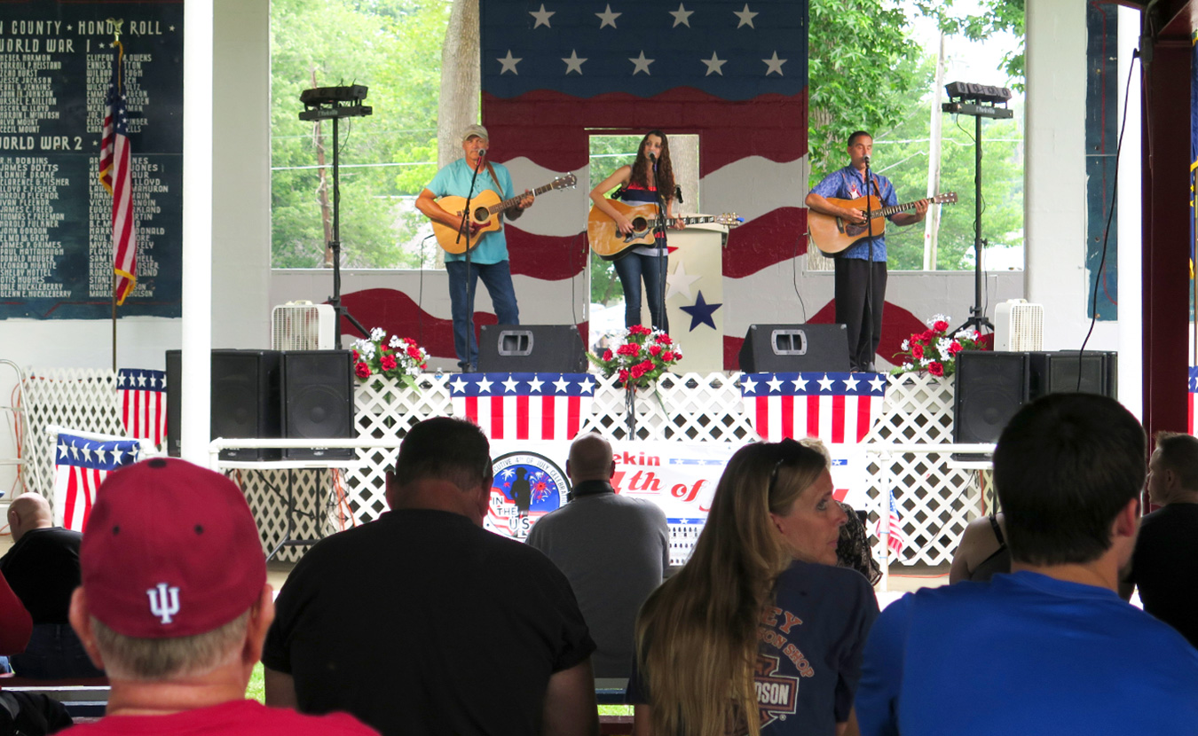 The four-day event is filled with entertainment, including live music. | Limestone Post