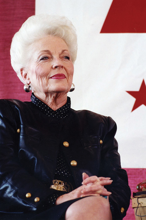 The legend and trailblazer, Texas Governor Ann Richards. | Courtesy photo