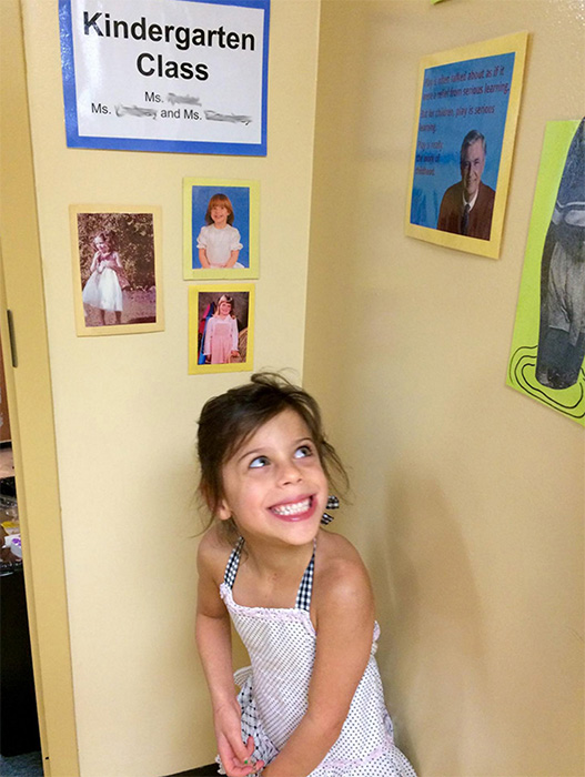 Juniper recently had her first day of kindergarten in Bloomington. | Courtesy photo