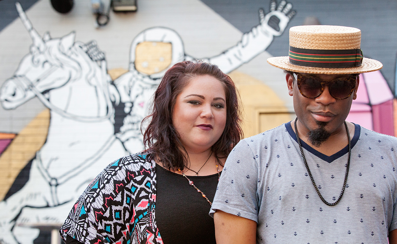 KJ Coley D, left, and Darran Mosley, owner of Misfit Toy Karaoke. | Courtesy photo