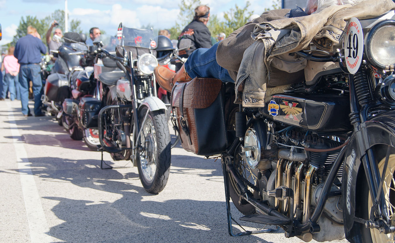 "The Motorcycle Cannonball Run, which is named after Hoosier Erwin ""Cannon Ball"" Baker, will be coming through Bloomington on September 13. Riders will attempt the cross-country trek on century-old motorcycles. 