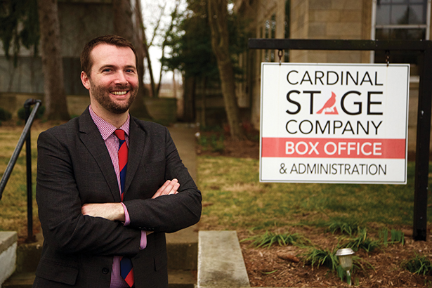 Gabe Gloden, the new Managing Director at Cardinal Stage Company. | Photo courtesy of Cardinal Stage Company