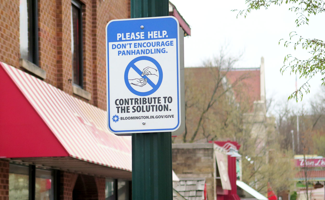 Forrest Gilmore, executive director of Shalom Community Center, says anti-panhandling signs, an online petition, verbal and physical harassment, and countless other tactics are often fueled by the fear of becoming homeless and the desire to sweep the problem under the rug. | Limestone Post