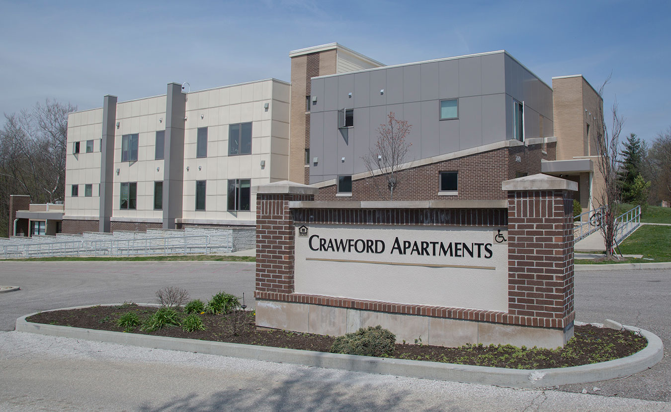 Crawford I provides apartments to those experiencing chronic homelessness who would otherwise never be able to afford and maintain a home. | Photo by TJ Jaeger