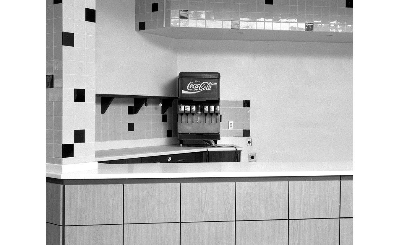 A lone Coke machine at an empty shop at the Fair Oaks Mall in Columbus. | Photo by Adam Reynolds