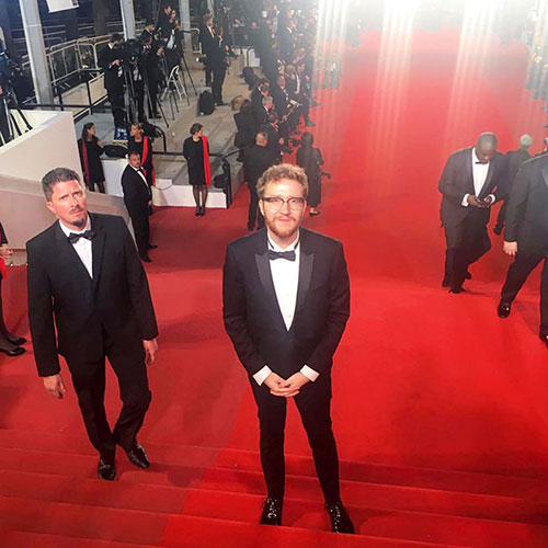 Jaeger, at Cannes. | Courtesy photo