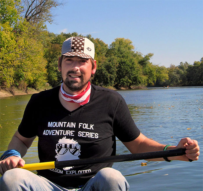 Michael Waterford is prepping and training for his journey down the length of the Mississippi River. | Courtesy photo
