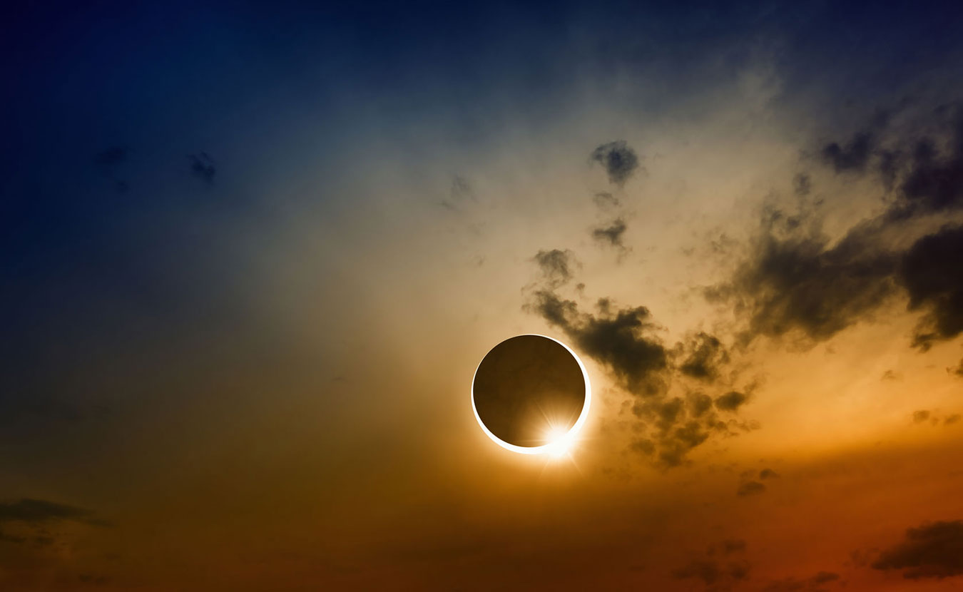 On August 21, the moon will totally eclipse the sun as it travels across America from west to east. Around Bloomington, people will witness a 94 percent eclipse, but there are many places and ways to experience this rare event — either the partial or total eclipse — not far from Bloomington. | Copyright: _ig0rzh_ / 123RF Stock Photo