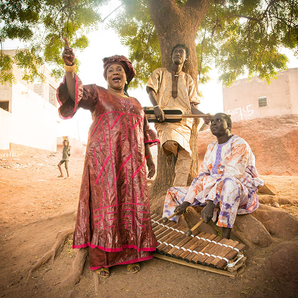 Trio da Kali, a soulful band from Mali with Mandé griot traditions, will perform at this year's Lotus World Music and Arts Festival, which takes place in downtown Bloomington from September 28 to October 1. | Courtesy photo