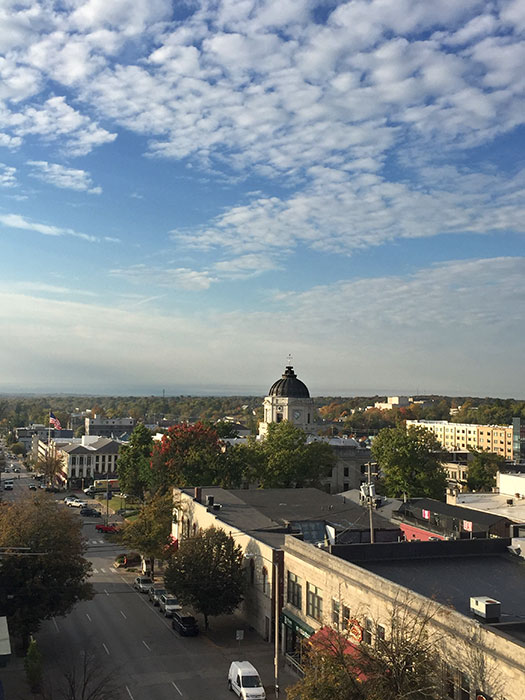 A local low-barrier housing program, called Courage to Change, helps people with substance use disorder find housing in Bloomington.   Limestone Post