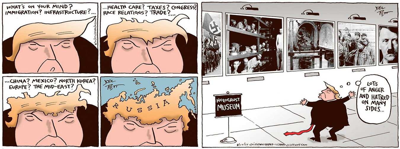 Images courtesy of Joel Pett