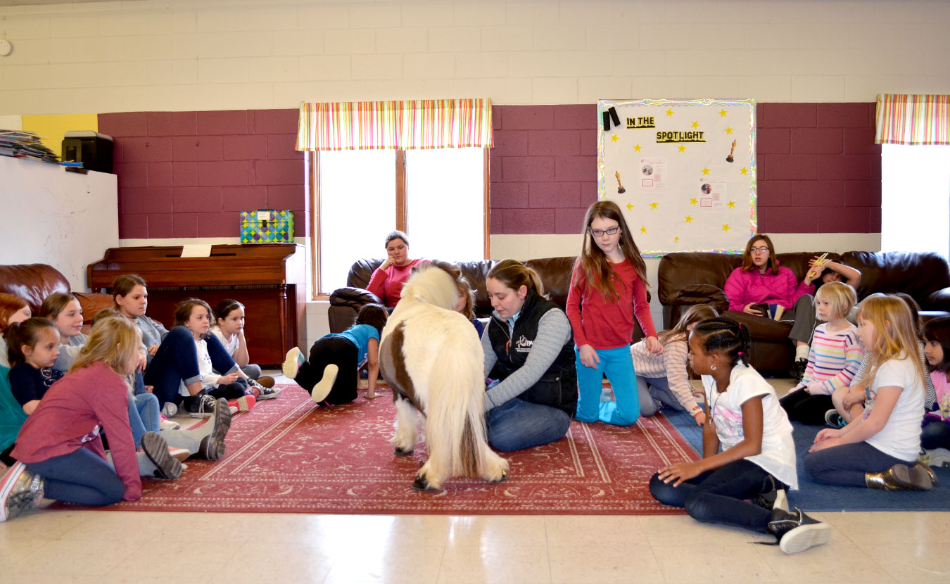 Daisy Mae makes the rounds as the PALS ambassador. | Courtesy photo