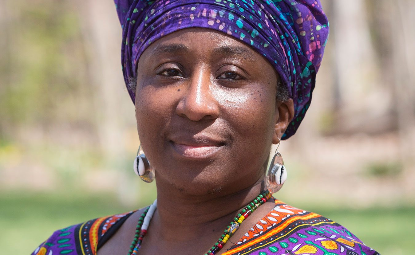 Dr. Maria Hamilton Abegunde is a scholar, an egungun (an ancestral priest in the Yoruba Orisa tradition), a healer, a poet, a teacher, and a birth and postpartum doula. | Courtesy photo