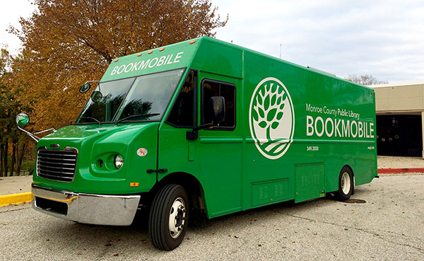 This solar-powered Bookmobile is the sixth iteration since 1929. | Photo by Michelle Gottschlich