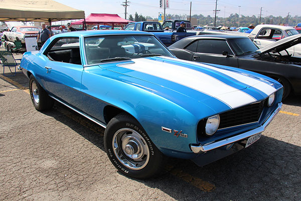 """Maynard's '69 Camaro should have looked similar to this car but was held together with rust.   Photo courtesy of <a href=""""https://www.flickr.com/photos/42220226@N07/21447822132"""" target=""""_blank"""" rel=""""noopener"""">Sicnag</a>"""