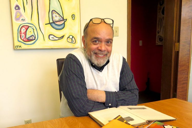 """William Morris, the attorney, radio DJ, and aspiring Episcopal deacon, says the foundation of all his work is teaching. Even on his radio show, """"The Soul Kitchen,"""" he says, """"I'm teaching people different kinds of music.""""   Limestone Post"""