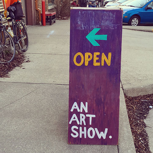 Save the date! We will be hosting a First Friday Art Show at the I Fell Building during the June 1 Gallery Walk. | Limestone Post