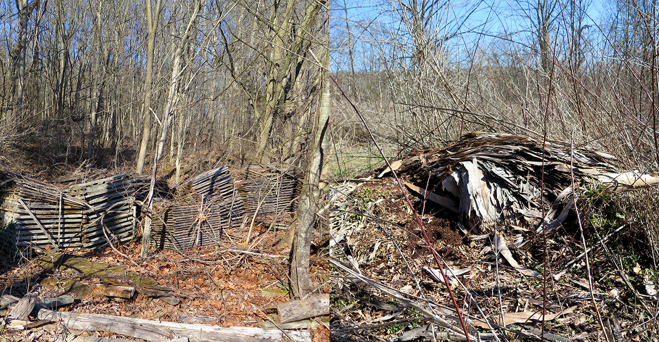 Porter West was once used as a composting site, with remnants still on the property. | Limestone Post
