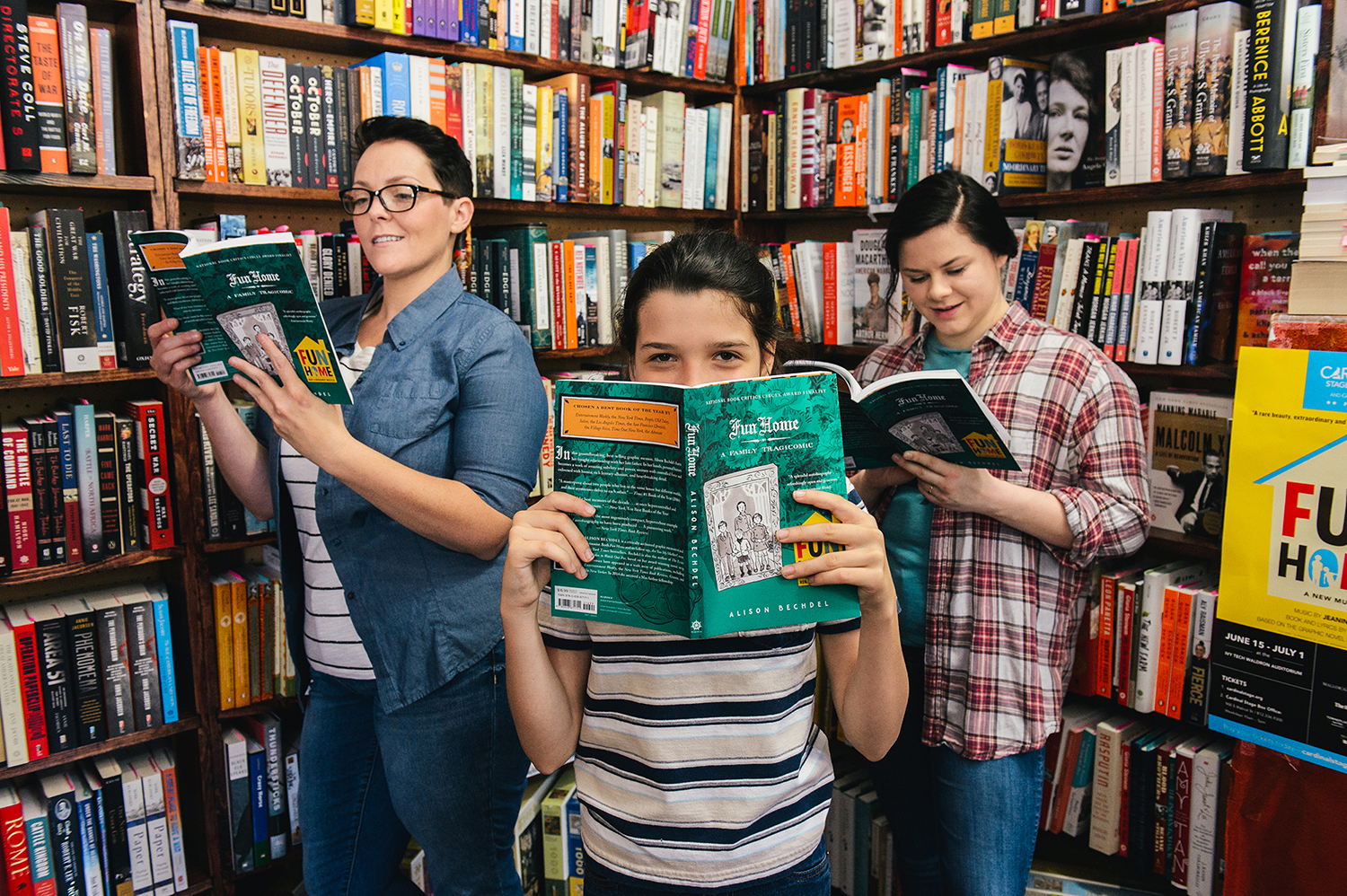 Cardinal Stage has partnered with several local bookstores and is hosting a 'Fun Home' book club prior to the June 20 performance. | Photo courtesy of Blueline
