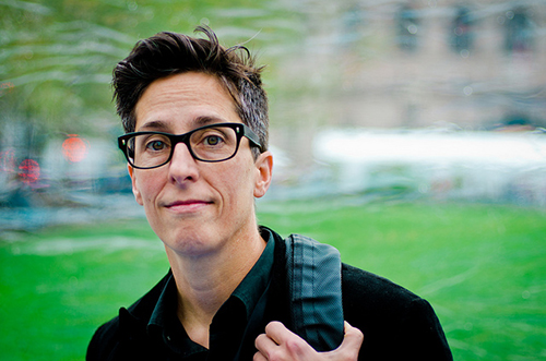 Alison Bechdel is the author of 'Fun Home' and the comic strip 'Dykes to Watch Out For' and is also the creator of the Bechdel Test. | Photo by Chase Elliott Clark