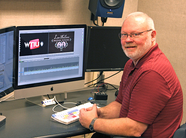WTIU in-house producer Ron Prickel. | Courtesy photo