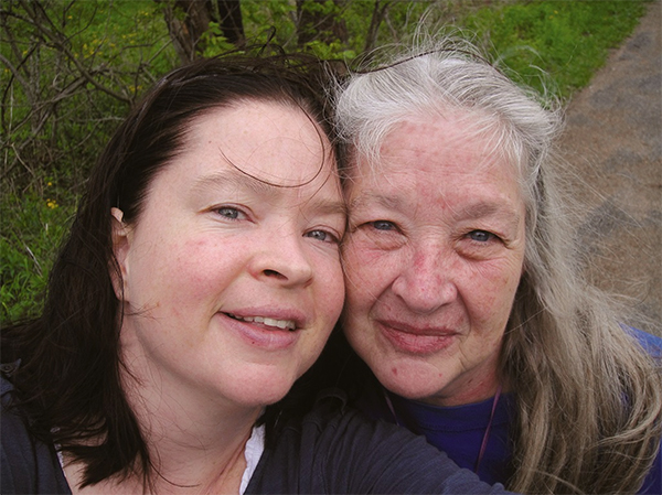 Ann, right, with her daughter Sarah Barlow Yongprakit in 2011. | Courtesy photo