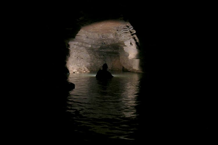 Samuel Frushour and his cave-diving peers have mapped miles of aquatic caves in southern Indiana. While Hoosier caverns might not have the clear blue waters of tropical caves, they offer an adventure that is increasing difficult to find in modern times — exploring uncharted territory.   Courtesy photo