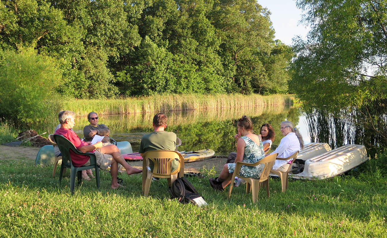 May Creek residents discuss ways to gain community income at a council meeting in 2017. | Limestone Post
