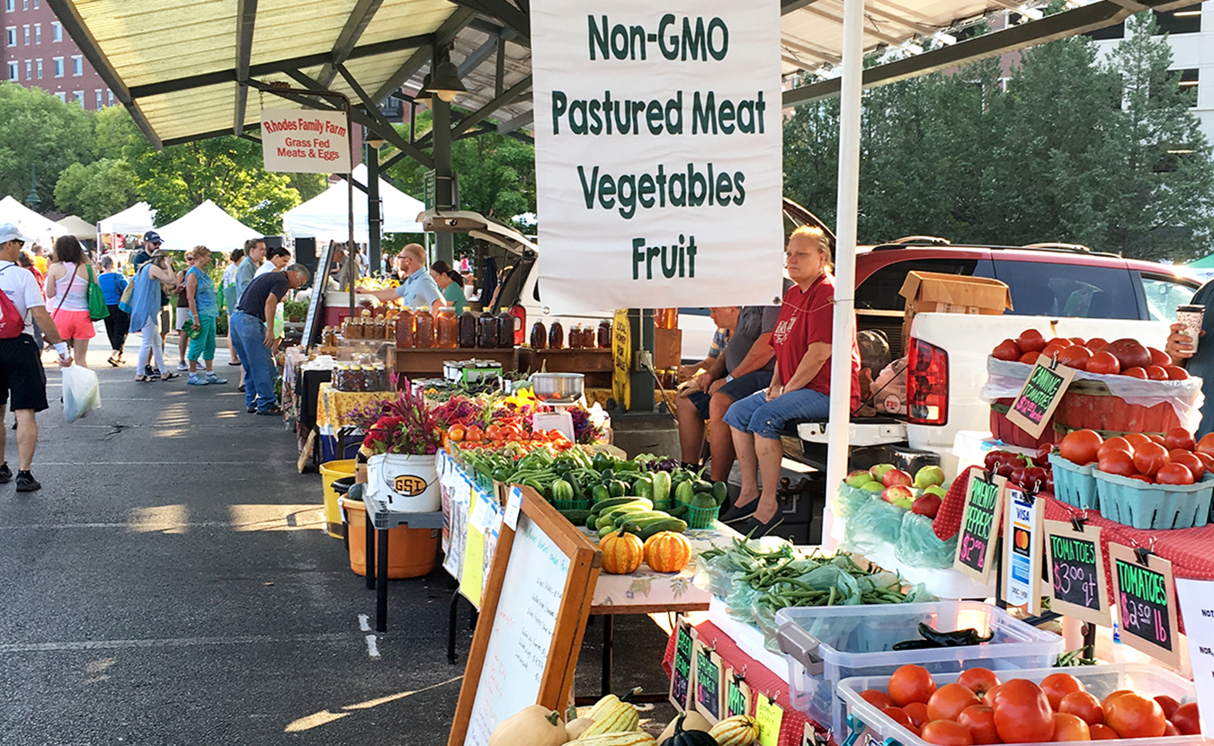 The Bloomington farmers' market will double the value of SNAP benefits, up to $18 (or $36 total value). | Limestone Post