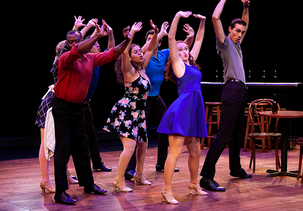 "IU Theatre's production of ""Stardust Road: A Hoagy Carmichael Musical Journey"" runs through the weekend. 