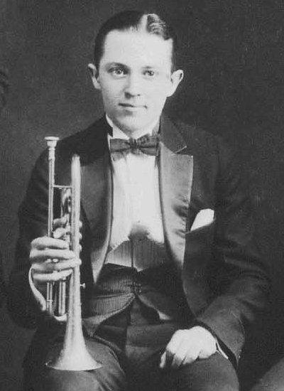 Bix Beiderbecke, a cornet player and co-namesake for Hoagy Bix, photographed in 1924. | Photo courtesy of Public Domain