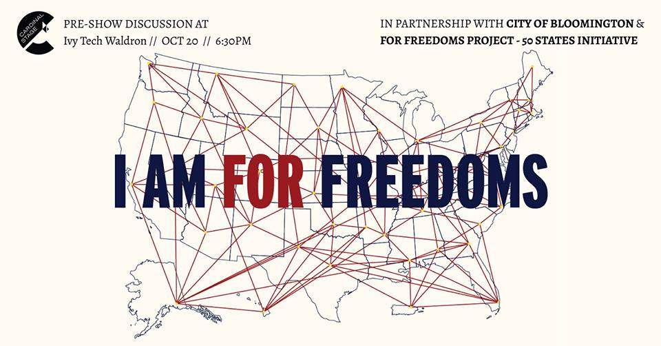 "For Freedoms suggests using four mediums to spark conversation: billboards, yard signs, exhibitions, and town hall programming. ""Each of our panelists, and our moderator, have unique knowledge and experiences to share when it comes to religious freedom,"" says Rachel Glago."
