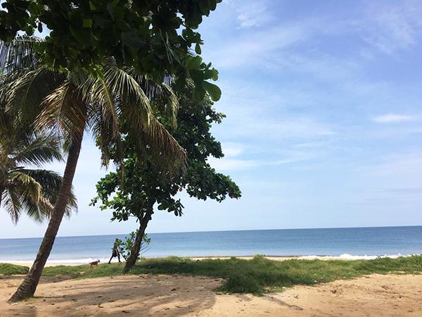 Lumley Beach in Freetown, Sierra Leone. | Photo by Daniel Bangura