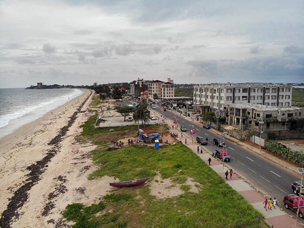 Freetown City, Sierra Leone.   Photo by Edward Kargbo