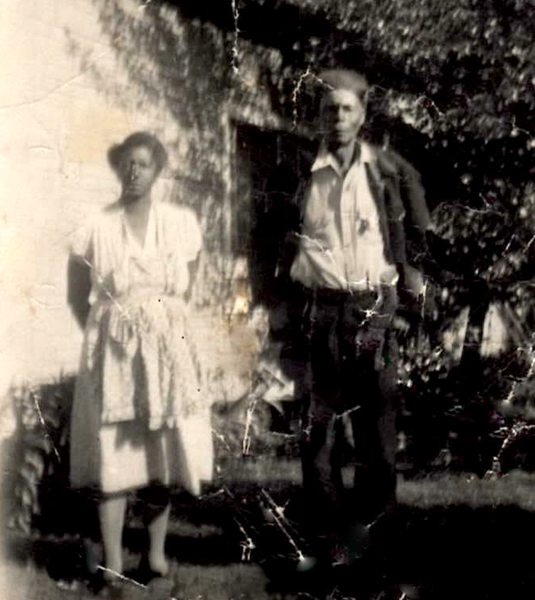 Booker's family has had roots in south-central Indiana for more than 150 years. Pictured here are his great-grandparents Tillie and Everett. | Courtesy photo
