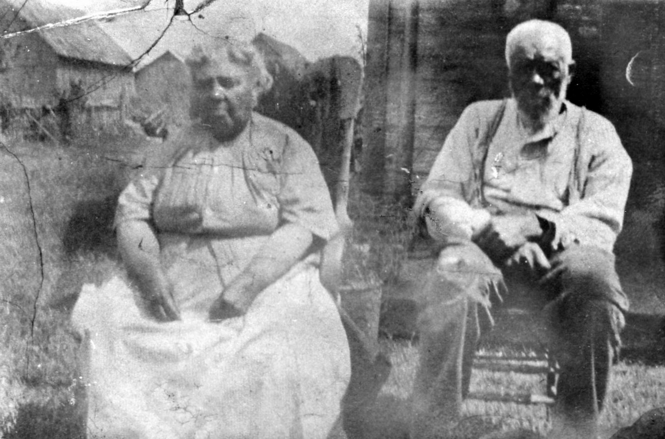 James H. Newby and his wife, Eliza Rann Newby, at their home in Canada. James was born in Orange County, Indiana, and registered for the Civil War draft when he was 20. After his parents left for Canada, James traveled to Philadelphia where he joined the 3rd Regiment of the United States Colored Troops (USCT). After the war, he rejoined his family in Canada, married Eliza, and worked as a farmer. They had six children. | Courtesy photo