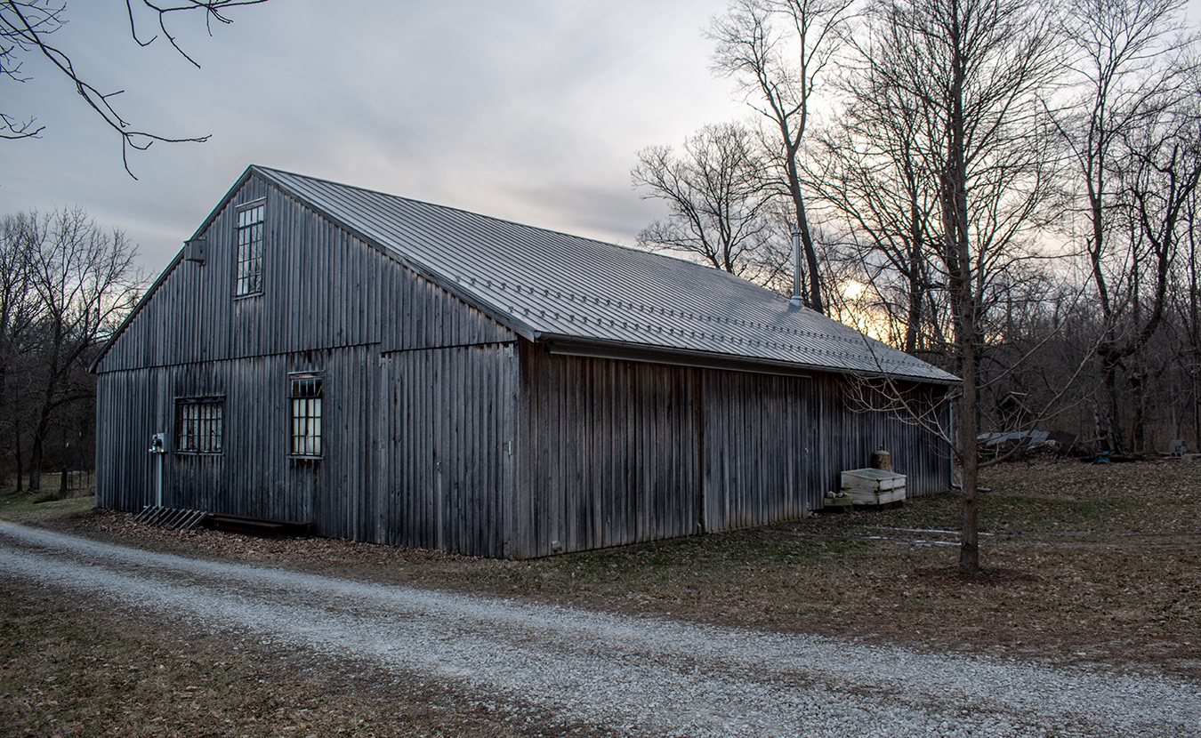 In an ever-growing and -changing city, much of its heritage gets lost, along with the stories that go with it. While barns might have been common throughout what is now the Bloomington city limits, only a few such structures remain, such as this restored barn on what was once the property of the prominent Borland family on Bloomington's southwest side. | Photo by Paul Bean