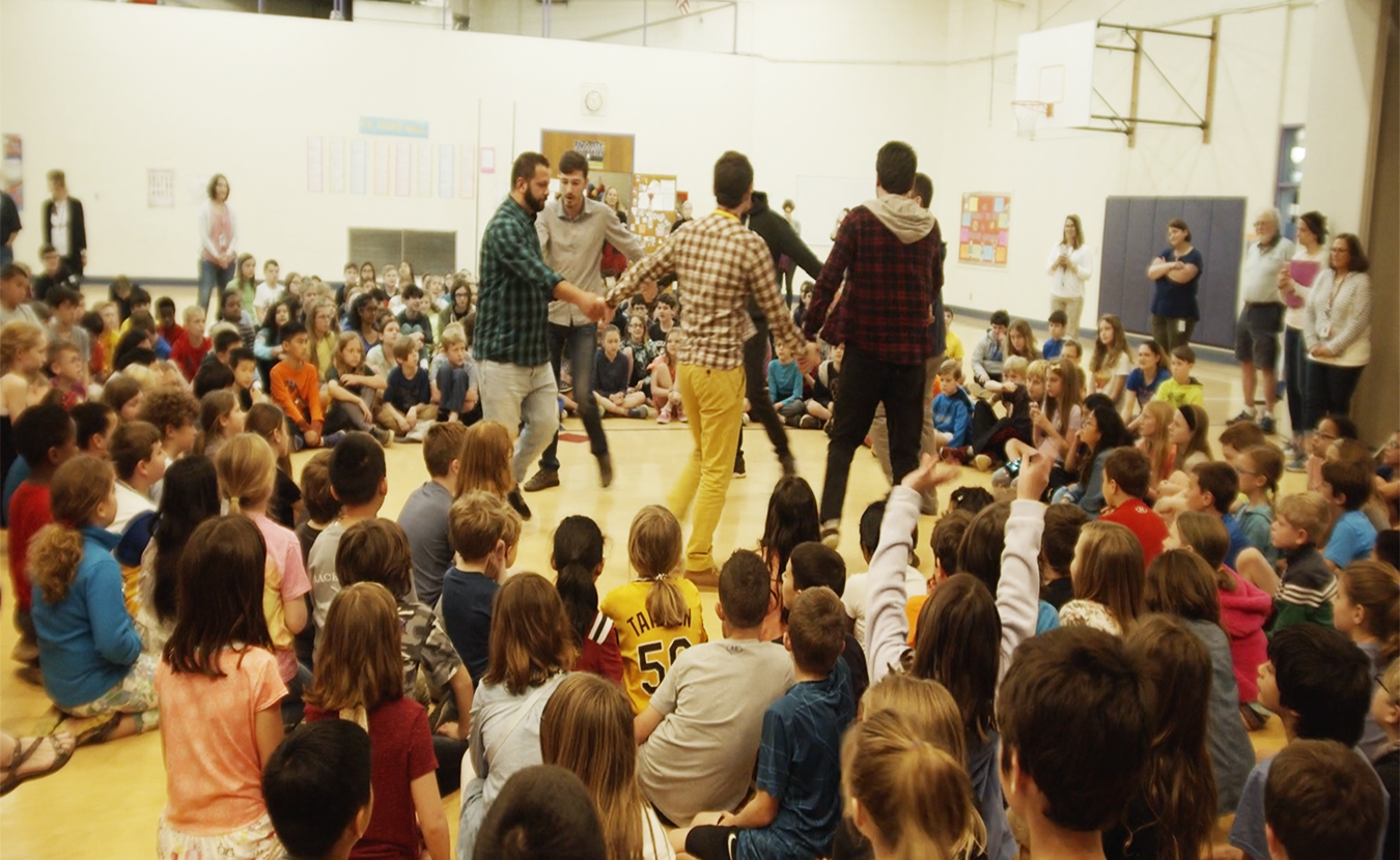 "Members of the music group Adilei performed in the gymnasium of Childs Elementary in April as part of the Lotus Education & Arts Foundation's Lotus Blossoms educational outreach program. Childs fifth-grader Stella H., 11, called the performance ""an eye opener."" 