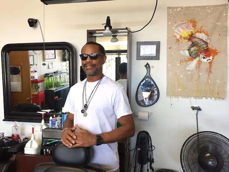 Jerrold J. Willis runs JW & Company Barbershop, one of the original tenants of Artisan Alley's 2nd Street location. | Limestone Post