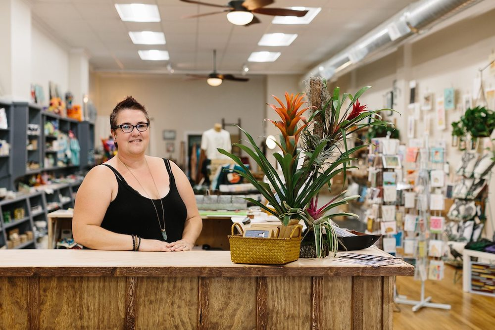 Gather :handmade shoppe & Co.:, 116 N. Walnut St.