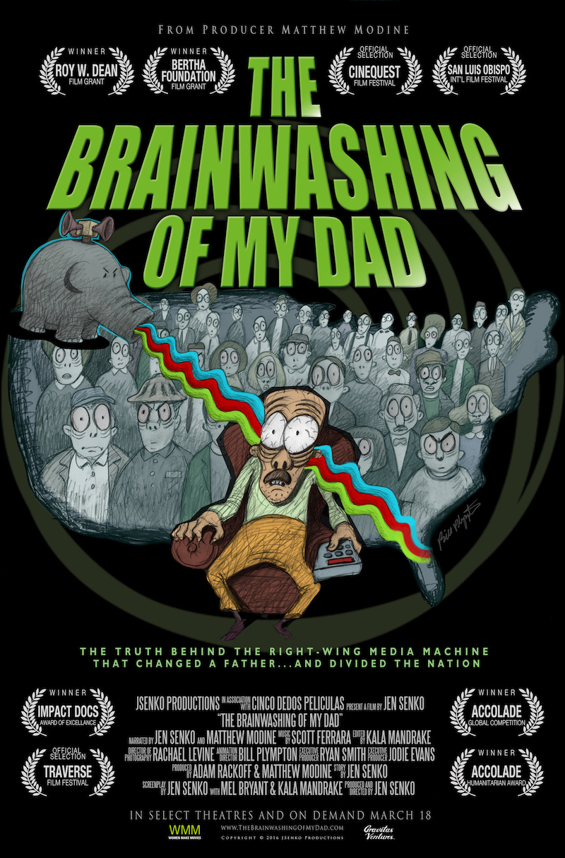 The film 'The Brainwashing of My Dad,' narrated by Senko and Matthew Modine, will be shown at the Truth Matters event on Saturday, October 19, at the Buskirk-Chumley Theater.